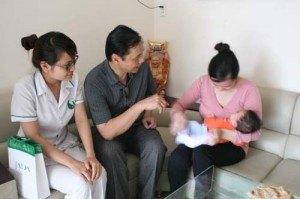 Lương y Nguyễn Hữu Toàn chữa khỏi bệnh vô sinh